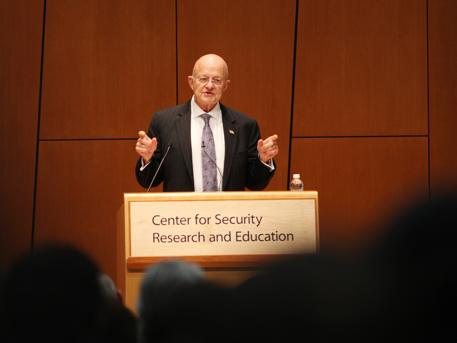 James Clapper speaking